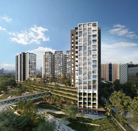 Park Place Residence - продажа апартаментов в строящемся кондоминимуме в Сингапуре