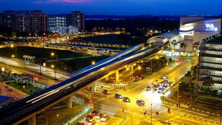 Сингапур - в десятке лидеров по городской мобильности